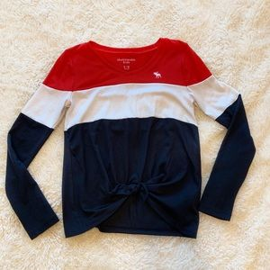 Girls Abercrombie kids shirt size 9 / 10 NWOT